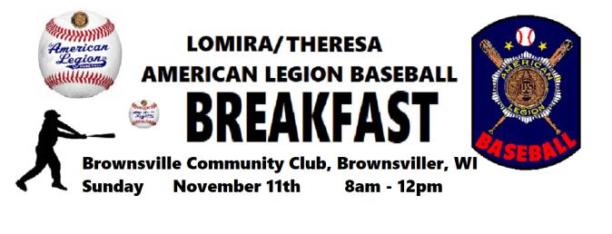 Baseball Breakfast Nov 11 2018 Poster(2)
