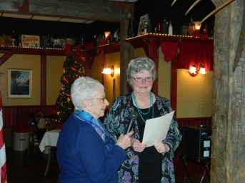 Donna Ernst - 40 years Auxiliary